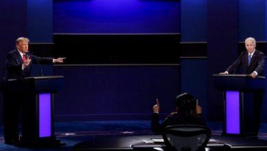 Photo of ترامب وبايدن يتبادلان الاتهامات في آخر مناظرة قبل التصويت