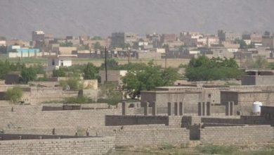Photo of جماعة  الحوثي تفتح نيران أسلحتها الرشاشة على قرى الجبلية