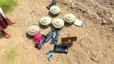 Photo of هندسة القوات المشتركة تفكك مجموعة الغام وعبوات للحوثيين جنوب الحديدة
