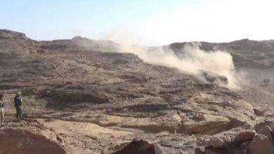 Photo of إفشال هجوم حوثي وتدمير عربات في محور كتاف صعدة