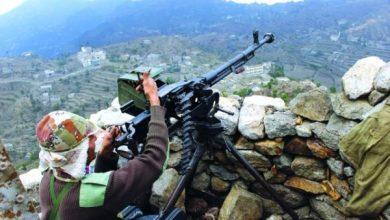 Photo of كسر هجمات للحوثيين في حيفان جنوبي تعز
