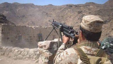 Photo of الجيش الوطني يكسر هجوم لمليشيا الحوثي في جبهة مقبنة غربي تعز