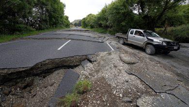 Photo of زلزال بقوة 6,1 درجة في المحيط الهادئ