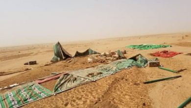 Photo of تضرر 350 أسرة نازحة في الجوف جراء الأمطار والسيول