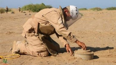 Photo of تعز..إصابة مدني بانفجار لغم غرب المحافظة